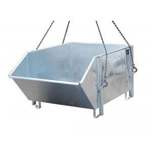 Baustoff-Behälter Typ BBG verzinkt