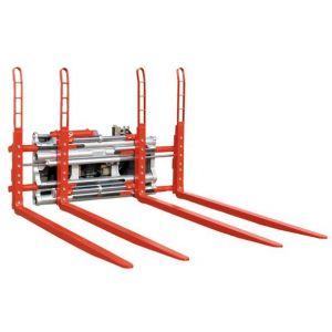 Durwen Doppelpalettengabel Typ DPK-C für 2-4 Paletten, FEM 4, Tragkraft bis 5600 kg