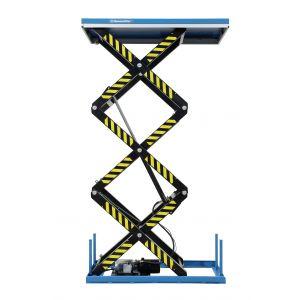 stationärer Dreifachscheren-Hubtisch Typ TRSHT oben