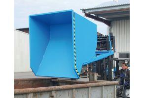Kippbehälter Typ BKM in RAL5012
