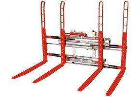 Durwen Doppelpalettengabel Typ DPK-C für 1-2 Paletten, FEM 2, Tragkraft bis 2500 kg