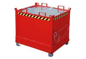 Klappbodenbehälter für Routenzüge Typ FB
