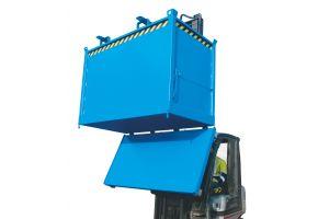 Klappbodenbehälter Typ FB lackiert in RAL5012