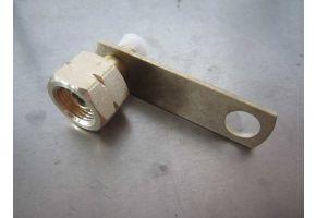 Gasflaschenadapter 5/8'' SAE mit Schlauchbruchsicherung