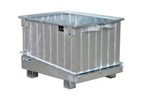 Klappbodenbehälter Typ HKB verzinkt