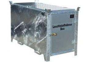Leuchtstoffröhren-Box Typ SL-D 150/200