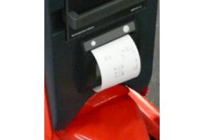 eingebauter Thermo-Drucker für RAVAS-2100L